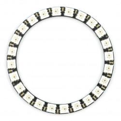 Pierścień LED RGB WS2812B 5050 x 24 diody - 66mm