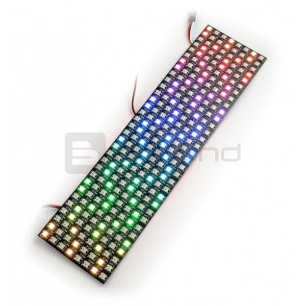 Elastic matrix 8x32 - 256 RGB LED RGB - WS2812B individually addressed_