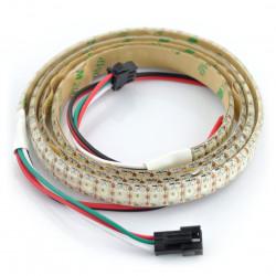 Pasek LED RGB WS2812B IP65 144 LED/m, 45W/m, 5V - 1m