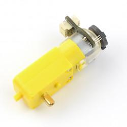 Mikro silnik z przekładnią 120:1 6V 160RPM + enkoder SJ01
