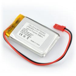 Ogniwo LiPol 600mAh 1S 3.7V