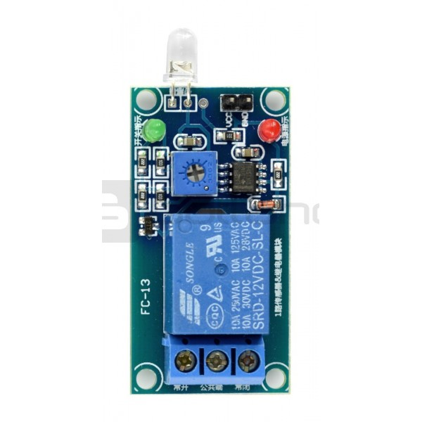 Relay module combined light-operated switch 12V 10A/125VAC*