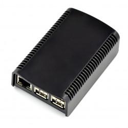 Obudowa Raspberry Pi Model 3/2/B+ RS 2-częściowa - czarna