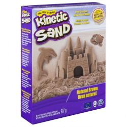 Kinetic Sand połyskujący piasek - 907g - brązowy