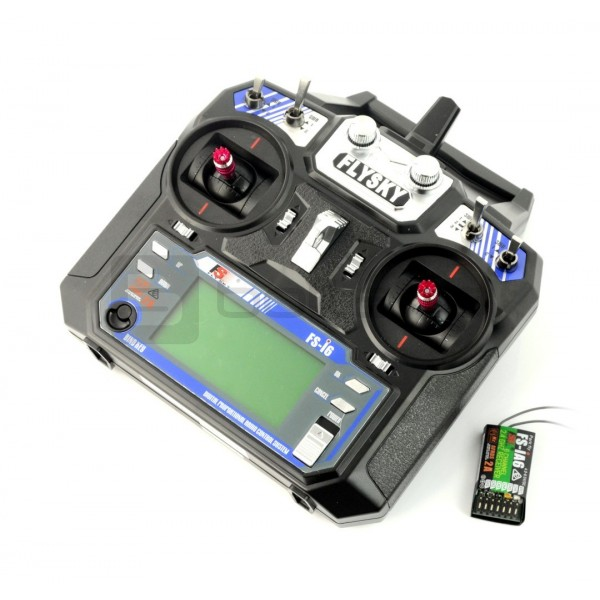 Controlling transmitter FlySky FS-i6 6 channels 2,4GHz + iA6 receiver with  telemetry_
