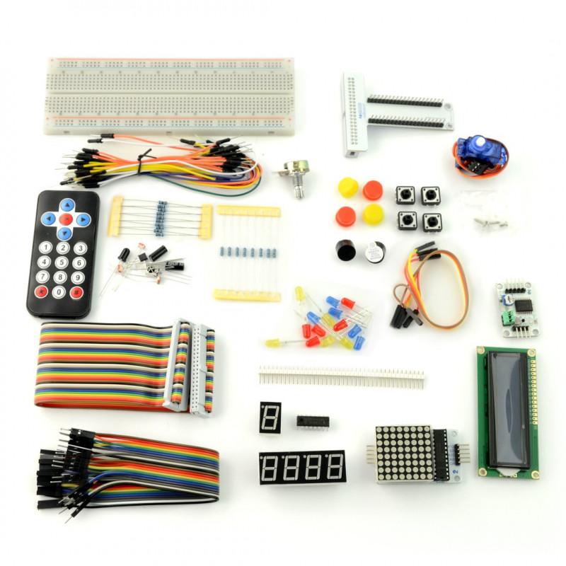 Zestaw prototypowy Velleman VMP502 dla Raspberry Pi 3B+/3B/2B/Zero