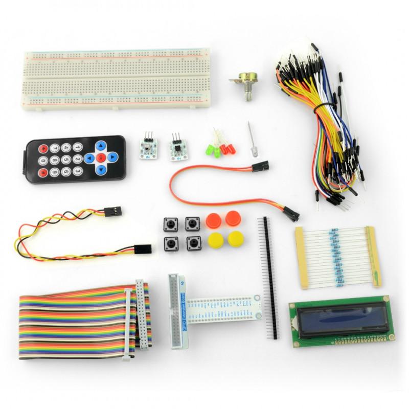 Zestaw prototypowy Velleman VMP500 dla Raspberry Pi 3B+/3B/2B/Zero