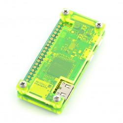 Obudowa Raspberry Pi Zero - Fluo Open - zielona