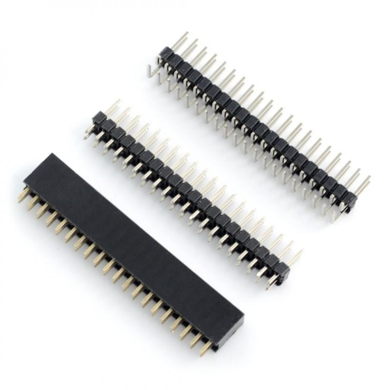 Zestaw złącz raster 2,54mm - do GPIO Raspberry Pi Zero