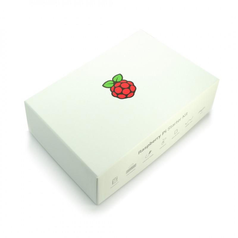 Raspberry Pi Starter Kit + książka - oficjalny zestaw startowy z Raspberry Pi 3