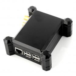Obudowa Raspberry Pi 3B+/3B/2B + DigiOne aluminiowa - czarna
