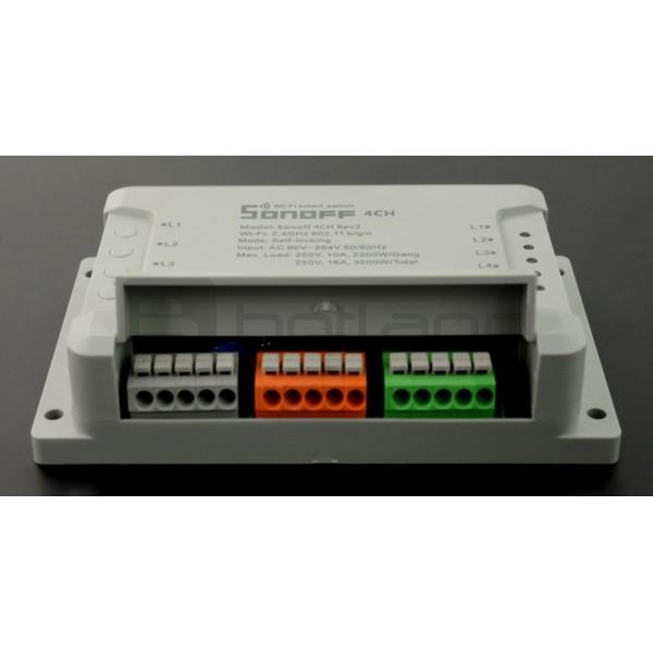 Sonoff 4CH Rev2 WiFi - 4-channel switch_