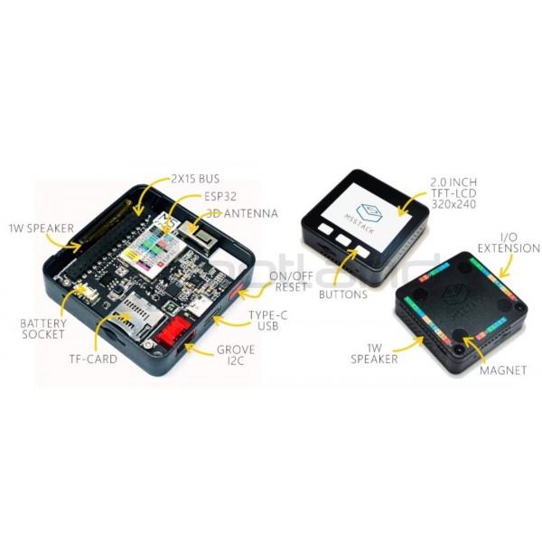 M5Stack Core - ESP32 Tensilica LX6 Dual-Core 240MHz WiFi Bluetooth +  MPU9250 - LCD 2
