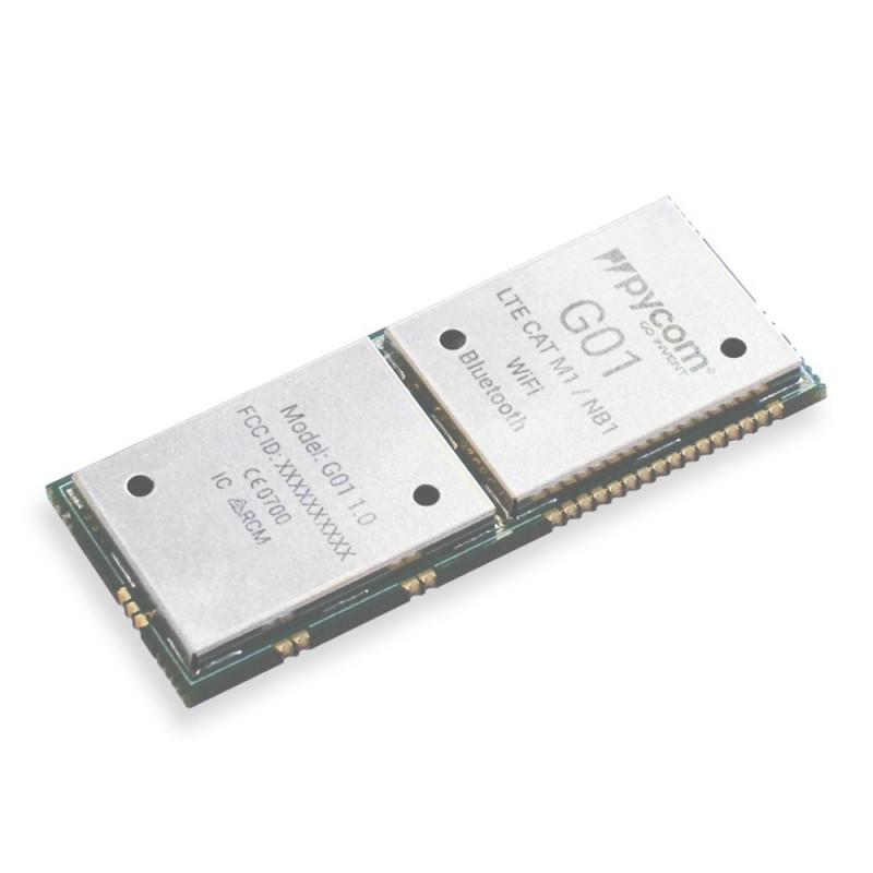 PyCom G01 ESP32 - WiFi module, Bluetooth BLE, LTE + Python API_