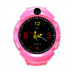 Watch Phone Kids z lokalizatorem GPS/WIFI - Czarny