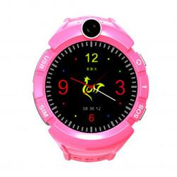 Watch Phone Kids z lokalizatorem GPS/WIFI - Różowy