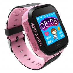 Watch Phone Go z lokalizatorem GPS AW-K2 - różowy