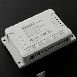 Sonoff 4CH Pro - 4-kanałowy przełącznik WiFi / RF - 3 tryby pracy