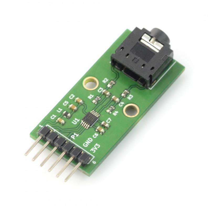 Numato Lab - sound card DAC CS4344 for Numato Lab FPGA boards_