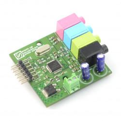 Numato Lab - Stereo Audio Codec AC'97 LM4550 - rozszerzenie dla płytek FPGA