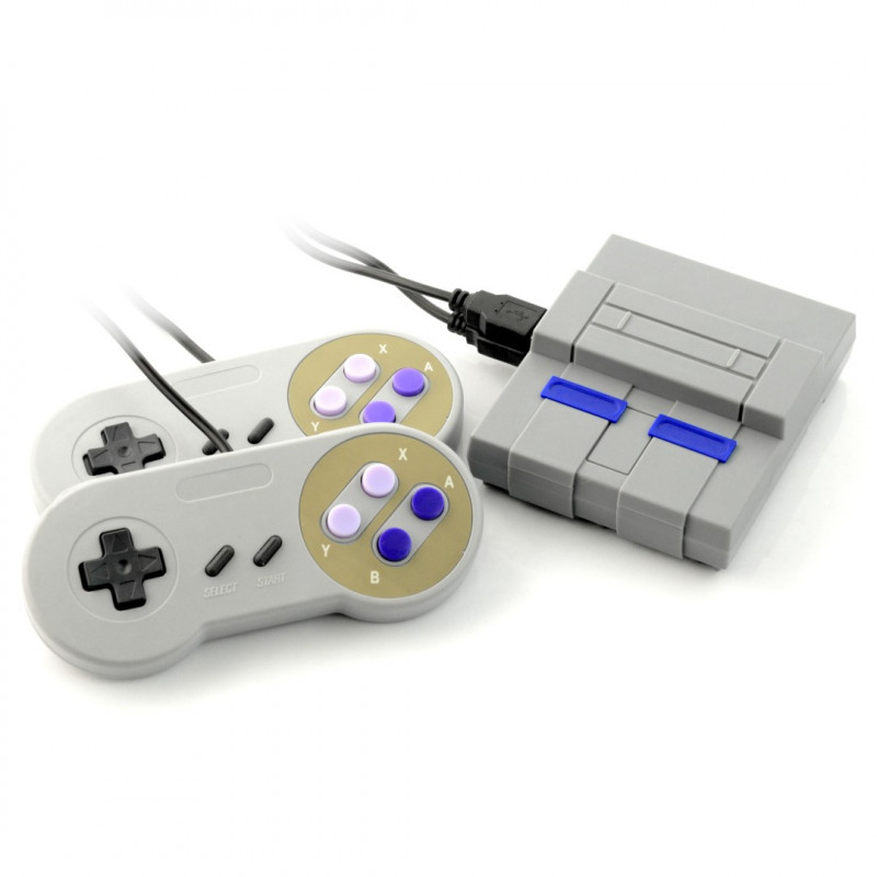 RetroPi Gaming Kit - zestaw z Raspberry Pi 3 B+