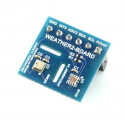 Weather Board 2 - czujnik temperatury, wilgotności, ciśnienia, światła i UV