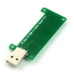 Pi Zero W USB-A Addon Board V1.1 - nakładka dla Raspberry Pi Zero/Zero W