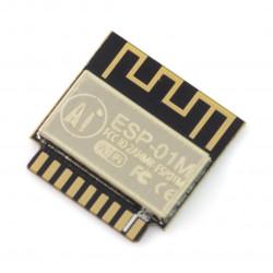 Moduł WiFi ESP-01M ESP8285 - 11GPIO, ADC, PCB Antena