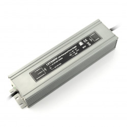 Zasilacz do taśm i pasków LED wodoodporny - 12V / 16,6A / 200W