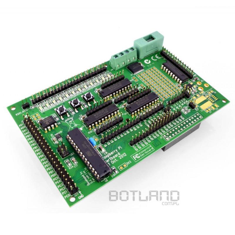 Gertboard - sterownik silnika DC, GPIO - rozszerzenie do Raspberry Pi B/B+