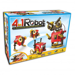 Robot 4 w 1 - Educational motorized robot kit