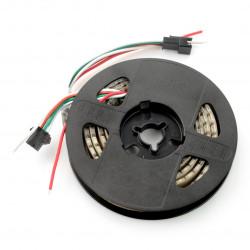 Pasek LED RGBW SK6812 - cyfrowy, adresowany - IP65 144 LED/m, 43,2W/m, 5V - 1m