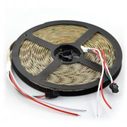 Pasek LED RGBW SK6812 - cyfrowy, adresowany - IP65 30 LED/m, 9W/m, 5V - 5m