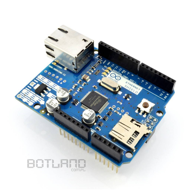 Arduino Ethernet Shield with microSD card reader