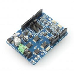 Cytron SHIELD-MD10 - jednokanałowy sterownik silników 30V/10A - dla Arduino