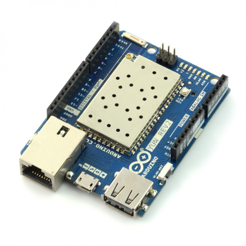 Arduino Yún Rev2 ABX00020 - WiFi + Ethernet