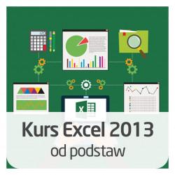 Kurs Excel 2013 od podstaw - wersja ON-LINE