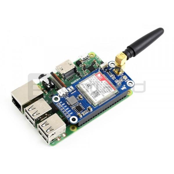 Waveshare LTE GPS HAT - NB-IoT / LTE / GPRS / GPS SIM7000E - for Raspberry  Pi*
