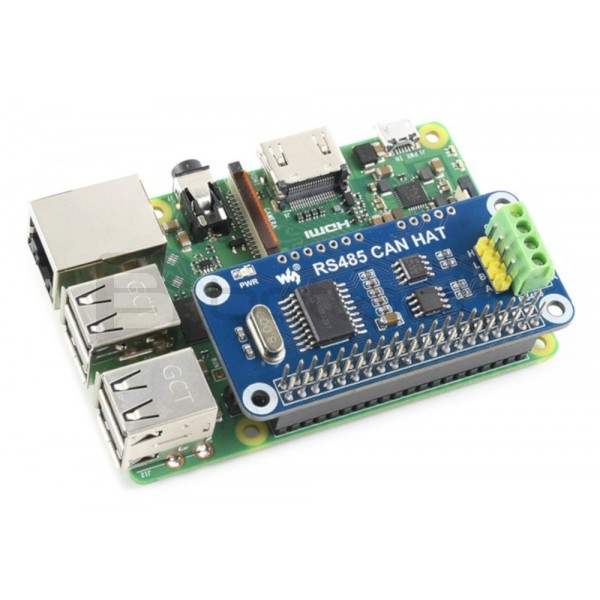 Waveshare RS485 CAN HAT - overlay for Raspberry Pi*