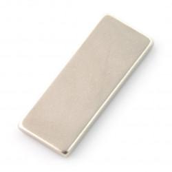 Magnes neodymowy prostokątny - 25x10x2mm