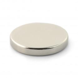 Magnes neodymowy okrągły - 20x3mm