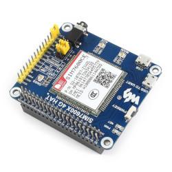 Waveshare LTE GPS HAT - LTE/GPRS/GPS SIM7600CE China - nakładka dla Raspberry Pi 3B+/3B/2B/Zero