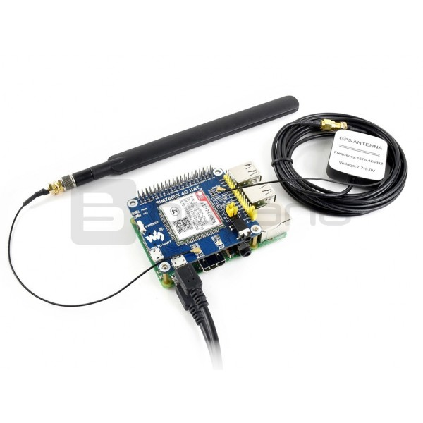Waveshare LTE GPS HAT - LTE/GPRS/GPS SIM7600CE China - for Raspberry Pi*