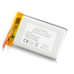 Akumulator Li-Pol Akyga 1000mAh 1S 3.7V
