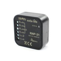 Exta Life - Radiowy nadajnik puszkowy 4-kanałowy 230V - RNP-21