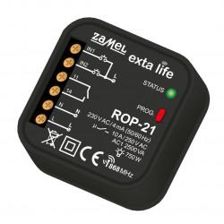 Exta Life - Radiowy odbiornik puszkowy 1-kanałowy 230V - ROP-21
