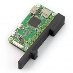 RP-O Din 3D - mocowanie na szynę DIN dla Raspberry Pi Zero - czarny