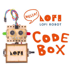 Lofi Robot - zestaw do budowy robotów - wersja Codebox