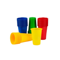 Plastikowe kubeczki do maty