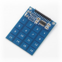 Moduł klawiatury dotykowej - 16 przycisków - TTP229 - I2C